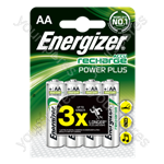 Energizer AA 2000mah 4pk Power Plus