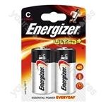 Energizer Ultra C Pk2 633004 Was 624679