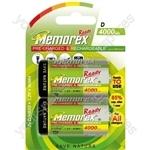 Memorex R20 Ready 4000mah 321402002400