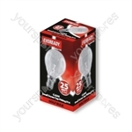 Eveready 25 Watt Ses Clear Golf Eveready