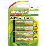 Memorex R6 Ready 2100mah 3214006042100