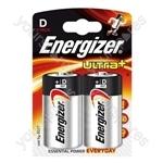 Energizer Ultra D Pk2 632911 Was 624682