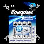 Energizer L91 Lithium B4 (aa) 632964