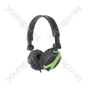 Stereo Headphones - QX40G Green