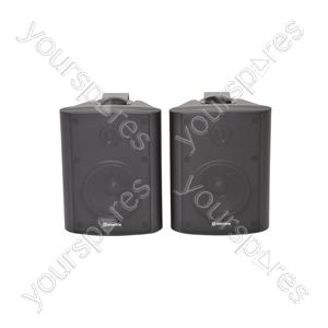 BC Series Stereo Background Speakers - BC4B 4inch Black Pair - BC4-B