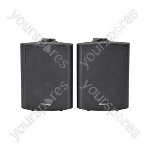 BC Series Stereo Background Speakers - BC5B 5.25inch Black Pair - BC5-B