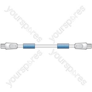 DB12 Coaxial plug - coaxial plug (with filter), 2.0m - Bulk