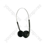 Lightweight Stereo Headphones - SH27