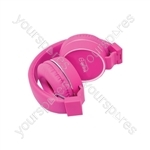 Multimedia Headphones with Inline Microphone - in-line - PH10-PNK