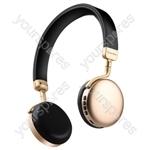 Metallic Bluetooth Headphones - Gold - NEO-GLD