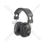 Mono/Stereo Headphones with Volume Control - MSH40