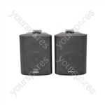 BC Series Stereo Background Speakers - BC4B 4inch Black Pair - BC4-B