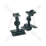 Swivel Adjustable Speaker Brackets - - in 2 directions