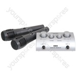Karaoke Mixer Kit - (UK version) Microphone - KMIX