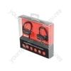 Waterproof Wireless Bluetooth® In-ear Activity Earphones - IPX7 Headphones - SBH03-BLK