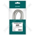 Figure 8 Speaker Wire - Fig8 White/Black Polarity 10m