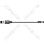 USB Type-C to USB Type-A Sync & Charge Lead 1.5m - plug plug
