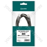 Economy U/UTP RJ45 Network Patch Leads - Data plug to plug 1.5m