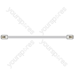 RJ11 Modular Leads - plug to plug lead, 3.0m, White