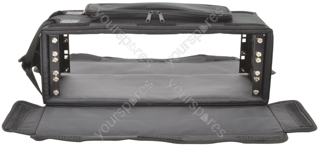 2u Shallow Rack Bag 2u Shallow Rack Case By Gear4music