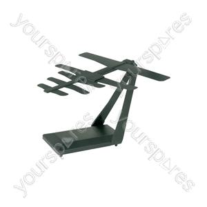 Flat Element UHF Indoor Aerial - Phaser X5 High Gain - ST05