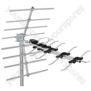 High Gain 32 Element Wideband UHF Aerial - UHF-D32SS