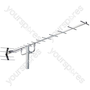 20 Element Digital Aerial LTE/4G Protected - UHF