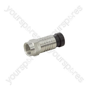 Snap-seal F Connectors - plug- bulk - C0005E