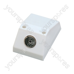MA31 Surface mounting coxial outlet