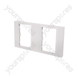 Double Gang Wallplate Frame - Modules