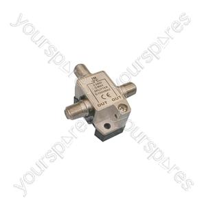 Metal F Splitter 5-1000Mhz