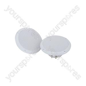 "OD Series Water Resistant Speakers - OD5-W4 speaker, 13cm (5""), 80W max, 4 ohms, White"