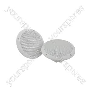 "OD Series Water Resistant Speakers - 0D6-W8 speaker, 16.5cm (6.5""), 100W max, 8 ohms, White - OD6-W8"