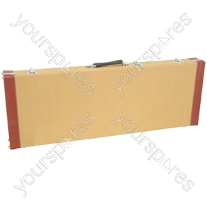 Tweed Style Guitar Cases - 2 Tone Electric - TEC-2T