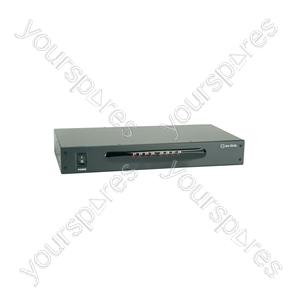 8 Way A/V Distribution Amplifier - 8-Way - AD-AV18