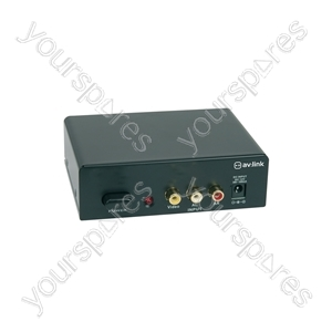 4 Way A/V Distribution Amplifier - 4-Way - AD-AV14