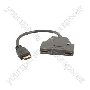 1:2 HDMI Splitter - x Mini - HD12M