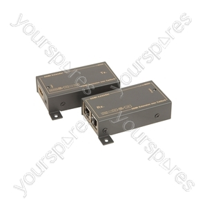 HDMI Extender Pair over Network Cable
