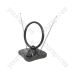 Indoor Amplified TV Aerial - ST36B antenna