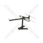 Indoor UHF HDTV Aerial - Olympik X2 - ST02