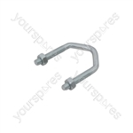 "Heavy Duty Bracket to Mast V Bolt 2.5"" - Bulk - AC06"