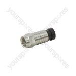 Snap-seal F Connectors - plug- bulk - C0005E
