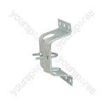 Pressed Caravan Bracket with Clamp - clamp- bulk - AE4085HD