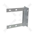 Galvanised Wall Bracket - 6 x 6 inch bracket- bulk - AE4091G