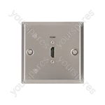 HDMI Steel Wallplate