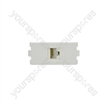Wallplate Module - Cat6 RJ45 Socket - Modules modules