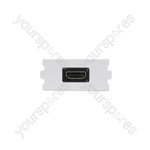 Wallplate Module - HDMI Socket - Modules coupler modules