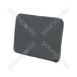 "Grey 12"" laptop sleeve"