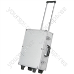Tool Case On Wheels - Aluminium with Trolley - CASE-TC01
