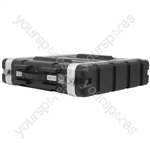 "ABS 19"" Equipment Rack Cases - - 2U - ABS:2U"